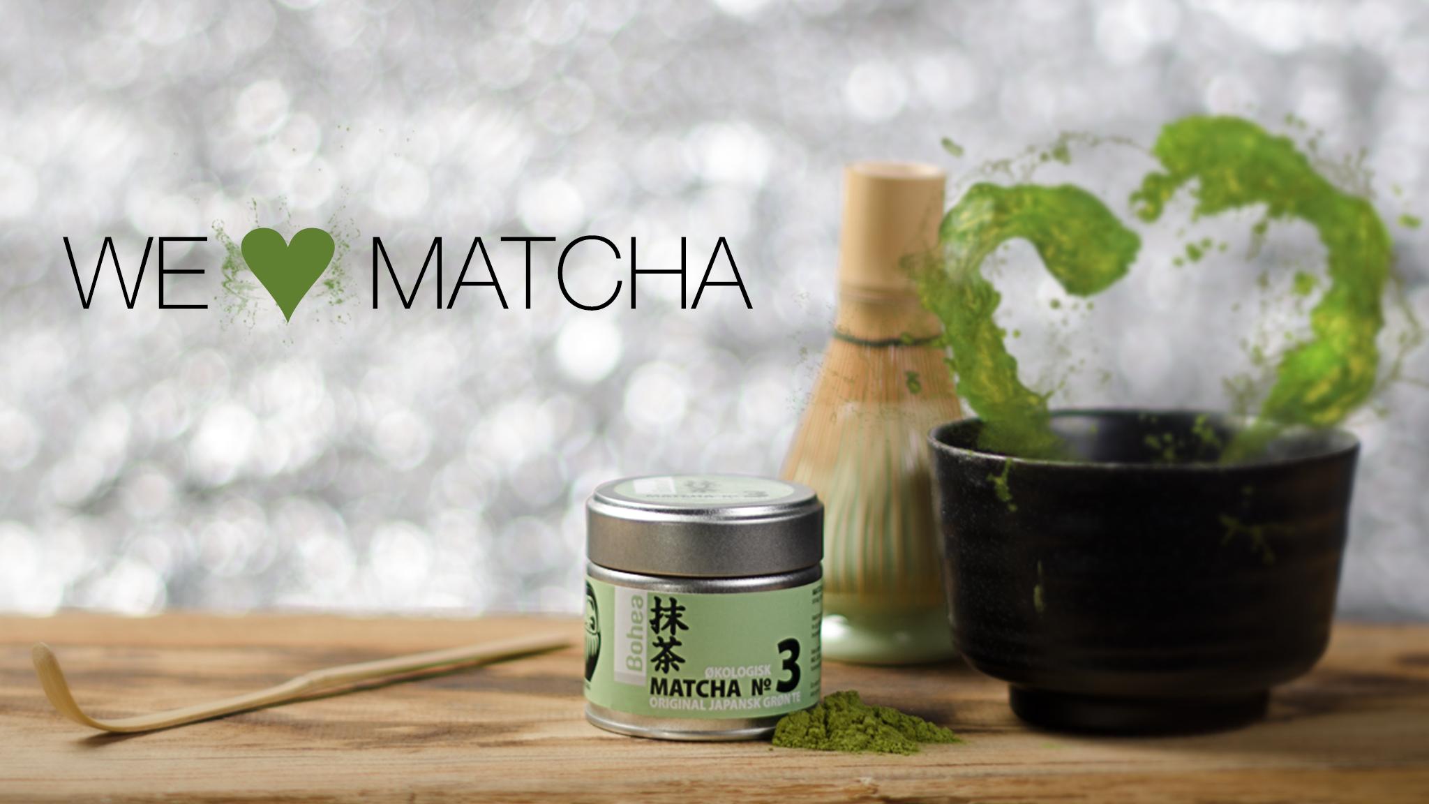 Matcha te naturlig velvære