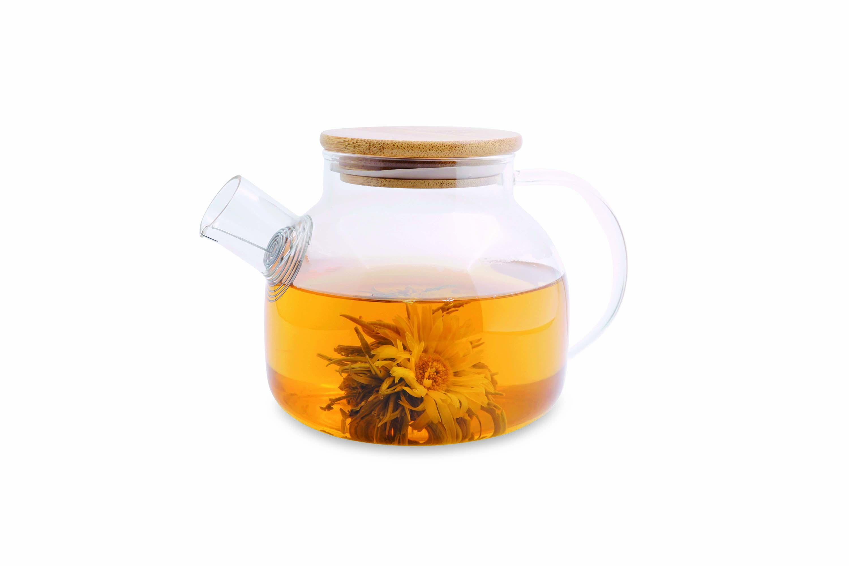 Tea for one tekop med tekande på top