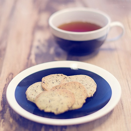 Julesmåkager med te