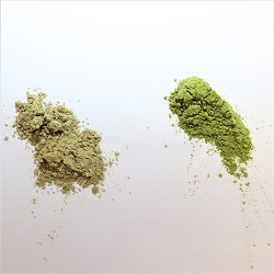 Matcha grøn tepulver