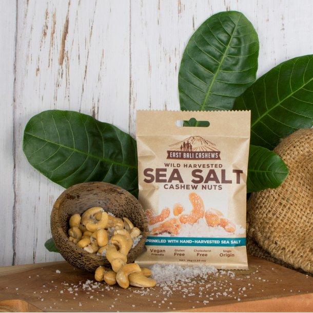 Cashewnødder havsalt