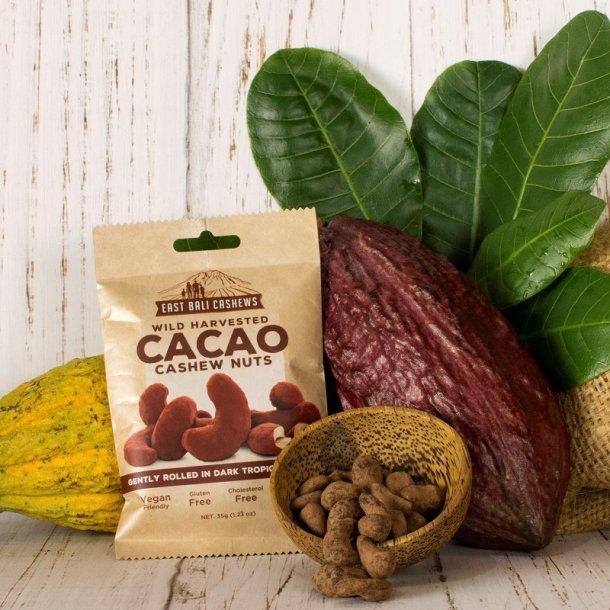 Cashewnødder med kakao