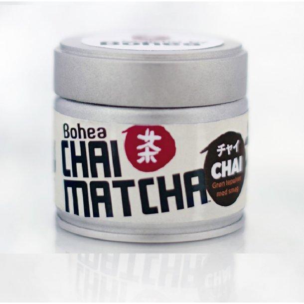 Chai Matcha økologisk - krydder matcha tepulver