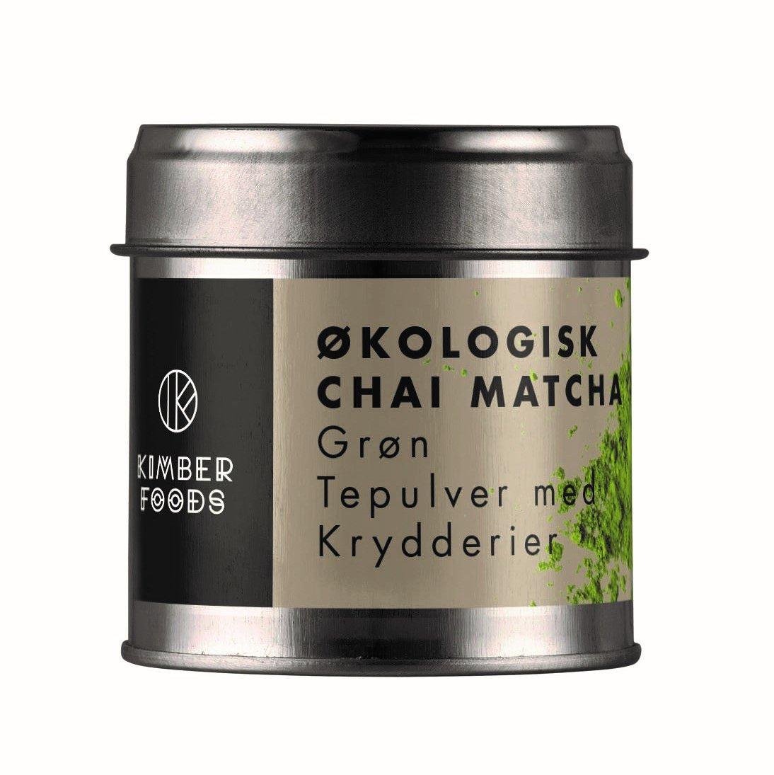ØKOLOGISK CHAI MATCHA - matcha tepulver med krydderier