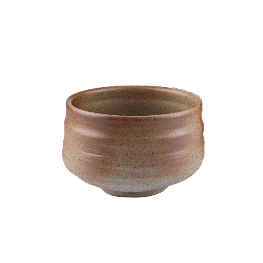 Håndlavet matcha teskål - sandfarvet